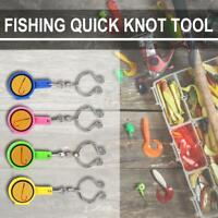 Fishhook Aufbewahrungsbox Quick Knot Tool Schnelle Krawatte Nagelknoter Cutter A