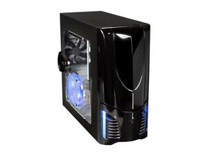 NZXT Apollo Black SECC ATX Mid Tower Comp. Case with Motherboard included