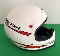 Vintage Shoei Fx-1 Motocross Helmet, size Large