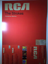 The Strokes RARE Comedown Machine Poster Promo + FREE POSTER! NEW Double-Sided