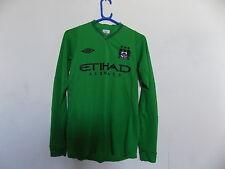 Manchester City football shirt Goalkeepers top jersey size S, 36, Umbro