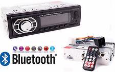 Autoradio FM con Bluetooth.Stereo x auto.Legge penna USB,SD,AUX,radio,telefonare