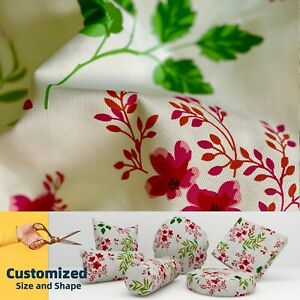 LF105 Cherry blossom Cotton Canvas Cushion Cover Bolster Pillow Case*TAILOR MADE