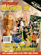 RUGBY NEWS PREVIEW 1995 NEW ZEALAND MAGAZINE RWC CANADA FRANCE