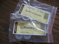NEW 2 SETS/4 Replacement Rubber Stoppers For Longaberger Salt & Pepper Shakers