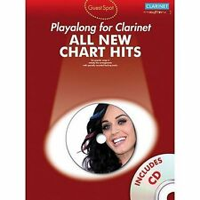 Guest Spot: All New Chart Hits (Clarinet) by Music Sales Ltd (Paperback, 2011)