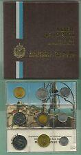 SAN MARINO SERIE DIVISIONALE SET UFFICIALE ZECCA 1983 con BIMETALLICO LIRE 500