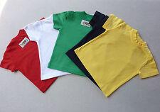 bebé Kids camiseta, Talla 68-74, 80-86, 92-98, 100% Algodón, Etiqueta LEXI