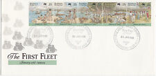 1988 The 1st Fleet Arrival FDC -  Coorparoo Qld 4151 PMK