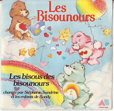 Disque vinyle 45T LES BISOUNOURS 1986 LES BISOUS . DV005