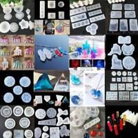 Epoxidharz Silikonform DIY Schmuck Anhänger Herstellung Werkzeug Form Handmade.