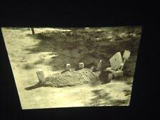 """Walker Evans """"child's Grave, Hale County"""" Photography 35mm Art Slide"""