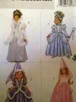Butterick 6935 Girls Princess Maiden Fairy Fantasy Dress sewing pattern UNCUT FF