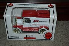 NEW (1992) ERTL 1913 Ford Model T ACE HARDWARE 4th Ed. Die Cast 1:25 Coin Bank