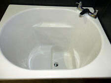 The Asagi Bath Compact Range Japanese Deep Soaking Tub FREE 7 Colour Light Kit