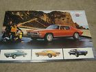 1973 Chevrolet Camaro Dealer Sales-Showroom Brochure-Poster, Z28, LT