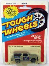 Vintage Kidco Tough Wheels Chevrolet Blazer 4x4 SUV Silver Chevy MOC 1/64 Scale