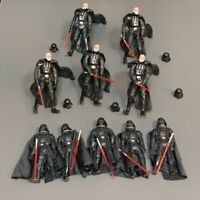 10 Star Wars 2001 & 2005 STYLE Darth VADER clone wars 3.75''  Action Figure Toys