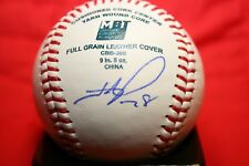 HUNTER PENCE AUTOGRAPHED SIGNED BASEBALL SAN FRANCISCO GIANTS COA