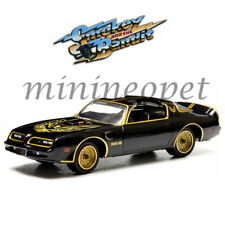 GREENLIGHT 44710 A SMOKEY AND THE BANDIT 1977 PONTIAC TRANS AM T/A 1/64 BLACK