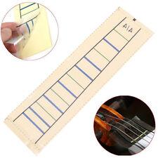 Violin Sticker Fretboard bande Fiddle Fingerboard Chart Finger Marker Pour 4/4