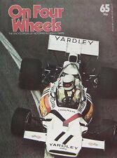 On Four Wheels magazine Vol.5 Issue 65 featuring Matra, Mazda, McLaren, Maybach
