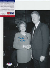 BARBARA WALTERS THE VIEW SIGNED AUTOGRAPH 8X10 PHOTO PSA/DNA COA #Y81419