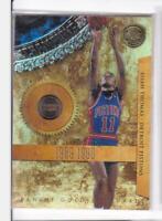 2011 Isian Thomas #/299 Panini Gold Standard Pistons