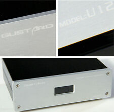 GUSTARD U12 XMOS USB to Spdif Converter DAC/0.1PPM /Support 384KHZ DSD64/128 S