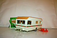 PLAYMOBIL SYSTEMS Vintage Caravan 3249 Camping Rv Awning Camper