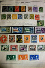 Kenya Uganda Kiribati Mint & Used Stamp Collection 1920s-80s