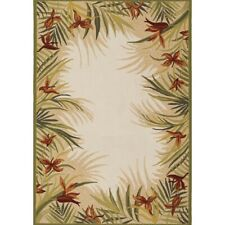Couristan Covington Tropic Gardens Sand Multi Indoor/Outdoor Rug