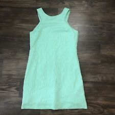 Lilly Pulitzer Dress Mint And Silver Size Small - Shift Dress