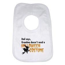 BABY BAVAGLINO PERSONALIZZATO STAMPA Halloween Costume morbido cotone Unisex