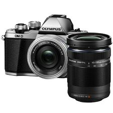 Olympus E-M10 Mark II (Silver) 14-42mm + 40-150mm + 8GB + Bag