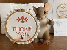 """2013 Charming Tails """"Thank You Sew Much� Cross Stitch Maxine Mouse Mib"""
