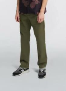 Edwin 39 Chino-Military Green - garment dyed