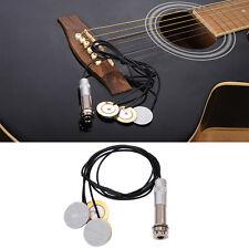 Mini Classical Acoustic Guitar Pickups Transducer for Banjo Ukulele Mandolin HOT