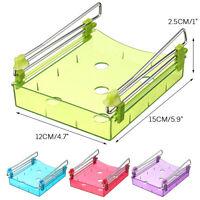Fridge Space Saver Storage Slide Under Shelf Rack Organizer Drawer Kitchen  |