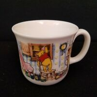 Royal Doulton Winnie the Pooh Disney Bone China White Coffee Mug Cup Bear Honey