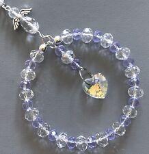 Light Purple Crystal Sun-catcher June Birthstone - Guardian Angel, Birthday Gift