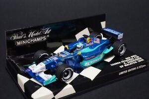 1:43 MINICHAMPS 400010117 Sauber Petronas C20 K.Raikonen Malaysia GP 2001 #17