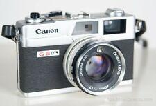 Vintage Canon Canonet Ql17 35mm Film Rangefinder Camera 40mm F1.7 Giii