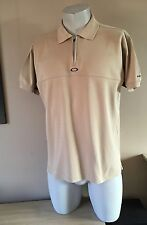 Oakley Uomo Regular Fit 1/4 Zip Polo Taglia Media