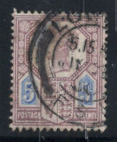 Großbritannien 1887 Mi. 93 Gestempelt 80% 5 Pence, Königin Victoria