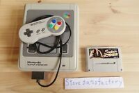Super Famicom Console SFC SNES & Super Double Yakuman Mahjong SHVC-7V body set