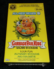 GARBAGE PAIL KIDS ANS 5 FACTORY SEALED BONUS BOX! B10 BRUCE BRUSH!