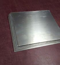 "10 pieces 1/8"" Aluminum sheet 5052 scrap drop 10-1/2"" x 12"" DIY metal samples"