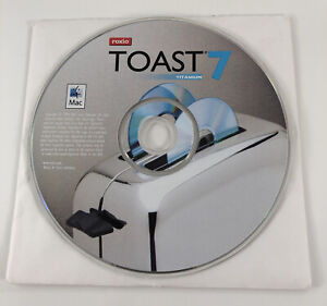 Roxio Toast 7 Titanium (Mac) w/ Serial Product KEY