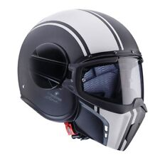 Caberg Ghost Open Face Modular Motorcycle Motorbike Helmet - Legend Black/white L 0737822